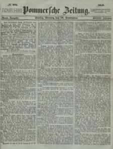 Pommersche Zeitung : organ für Politik und Provinzial-Interessen. 1859 Nr. 438