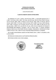 Uchwała Rady Miejskiej w Koszalinie nr LI/593/2010