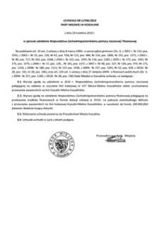 Uchwała Rady Miejskiej w Koszalinie nr LI/596/2010