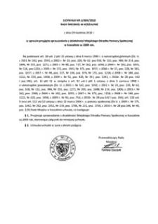 Uchwała Rady Miejskiej w Koszalinie nr LI/604/2010