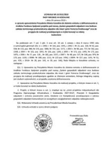 Uchwała Rady Miejskiej w Koszalinie nr LIV/615/2010