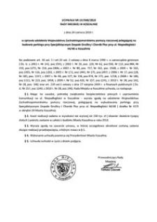 Uchwała Rady Miejskiej w Koszalinie nr LIV/640/2010