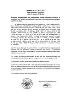 Uchwała Rady Miejskiej w Koszalinie nr LIV/645/2010