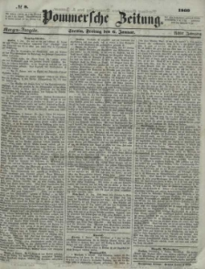 Pommersche Zeitung : organ für Politik und Provinzial-Interessen.1860 Nr. 6
