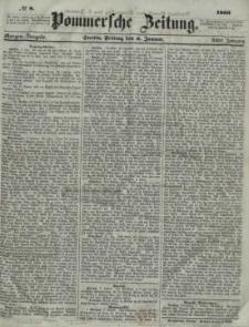Pommersche Zeitung : organ für Politik und Provinzial-Interessen.1860 Nr. 8
