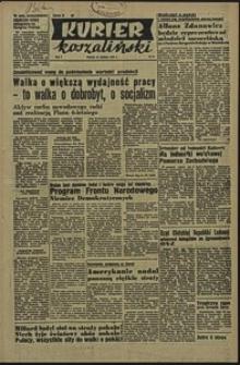 Kurier Koszaliński. 1950, sierpień, nr 21