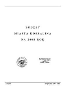 Uchwała Rady Miejskiej w Koszalinie nr XVIII/177/2007