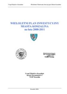Uchwała Rady Miejskiej w Koszalinie nr XXV/270/2008