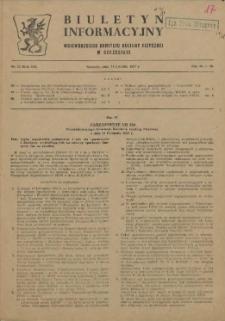 Biuletyn Informacyjny Wojewódzkiego Komitetu Kultury Fizycznej w Szczecinie. R.3, 1957 nr 13