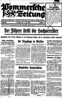 Pommersche Zeitung. Jg.3, 1934 Nr. 1