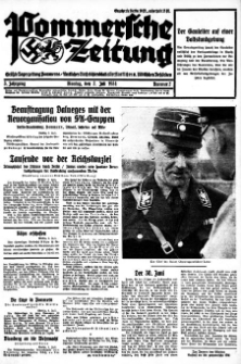 Pommersche Zeitung. Jg.3, 1934 Nr. 2