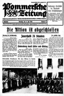 Pommersche Zeitung. Jg.3, 1934 Nr. 3