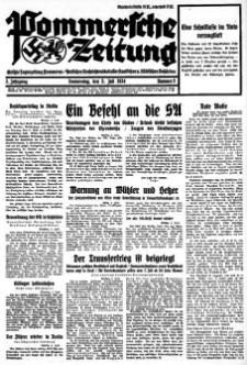 Pommersche Zeitung. Jg.3, 1934 Nr. 5