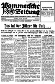 Pommersche Zeitung. Jg.3, 1934 Nr. 14