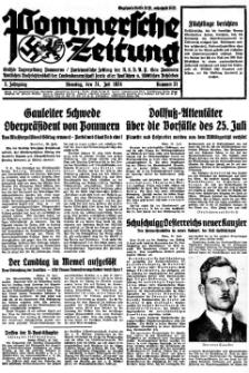 Pommersche Zeitung. Jg.3, 1934 Nr. 31