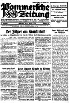 Pommersche Zeitung. Jg.3, 1934 Nr. 33