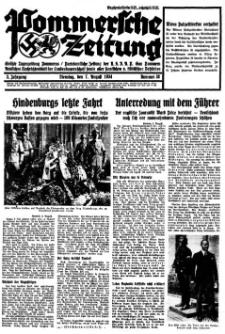 Pommersche Zeitung. Jg.3, 1934 Nr. 38