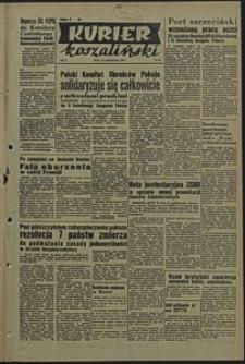 Kurier Koszaliński. 1950, październik, nr 63