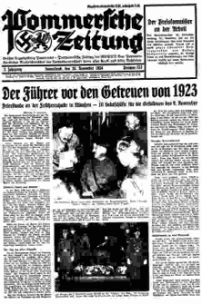 Pommersche Zeitung. Jg.3, 1934 Nr. 133