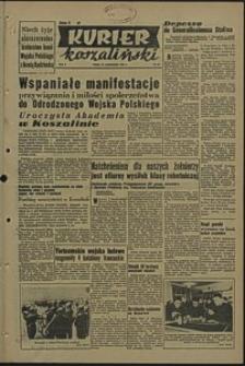 Kurier Koszaliński. 1950, październik, nr 65