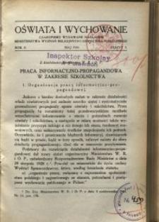Oświata i Wychowanie. R.2, 1930 nr 5