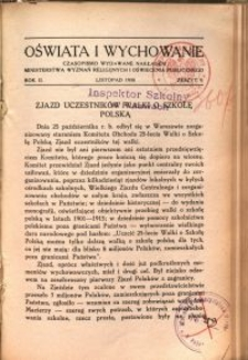 Oświata i Wychowanie. R.2, 1930 nr 9