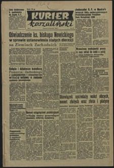 Kurier Koszaliński. 1950, listopad, nr 87