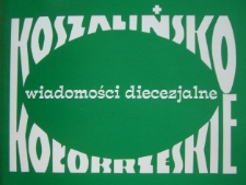 Koszalińsko-Kołobrzeskie Wiadomości Diecezjalne. R.19, 1991 nr 1-3