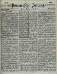 Pommersche Zeitung : organ für Politik und Provinzial-Interessen.1860 Nr. 256
