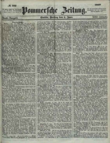 Pommersche Zeitung : organ für Politik und Provinzial-Interessen.1860 Nr. 266