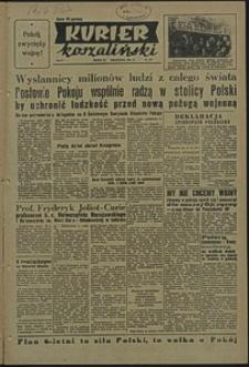 Kurier Koszaliński. 1950, listopad, nr 107