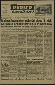Kurier Koszaliński. 1950, listopad, nr 108