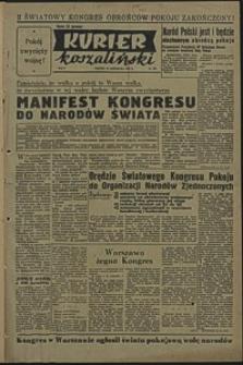 Kurier Koszaliński. 1950, listopad, nr 109