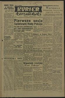 Kurier Koszaliński. 1950, listopad, nr 110