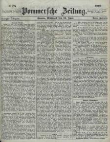 Pommersche Zeitung : organ für Politik und Provinzial-Interessen.1860 Nr. 449