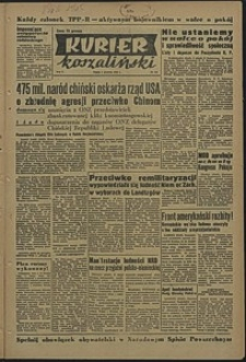 Kurier Koszaliński. 1950, grudzień, nr 116