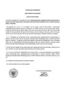 Uchwała Rady Miejskiej w Koszalinie nr LVII/668/2010