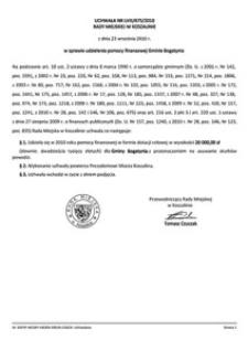 Uchwała Rady Miejskiej w Koszalinie nr LVIII/675/2010