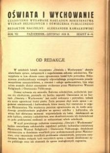 Oświata i Wychowanie. R.7, 1935 nr 10
