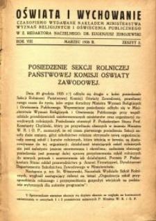 Oświata i Wychowanie. R.8, 1936 nr 6