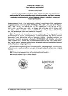Uchwała Rady Miejskiej w Koszalinie nr LVIII/683/2010