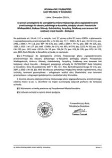 Uchwała Rady Miejskiej w Koszalinie nr LVIII/684/2010