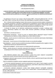Uchwała Rady Miejskiej w Koszalinie nr LX/686/2010