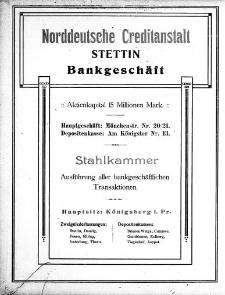 Adressbuch für Stettin und Umgebung : unter Benutzung amtlicher Quellen. 1910