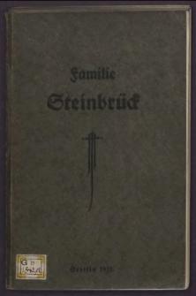 Stammtafeln und Stammlisten derer, die den Namen Steinbrück tragen