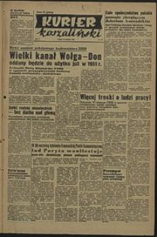 Kurier Koszaliński. 1950, grudzień, nr 142