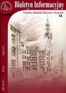 Biuletyn Informacyjny : Pomorska Akademia Medyczna w Szczecinie. Nr 4 (66), Grudzień 2009