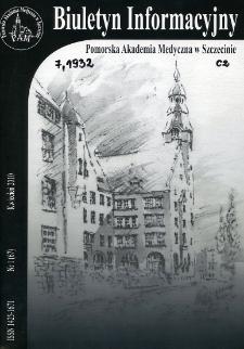 Biuletyn Informacyjny : Pomorska Akademia Medyczna w Szczecinie. Nr 1 (67), Kwiecień 2010