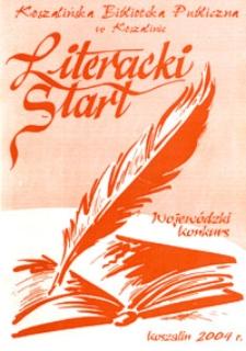 Wojewódzki Konkurs Literacki Start 2004
