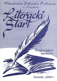 Wojewódzki Konkurs Literacki Start 2001